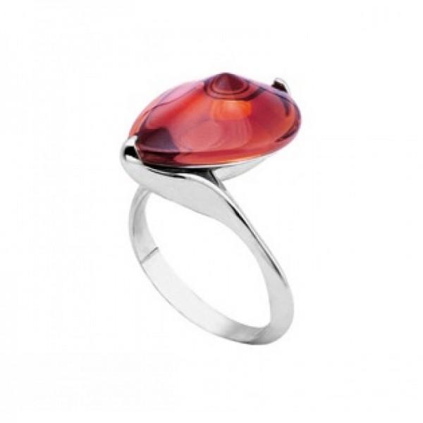 Baccarat Fleur de Psydelic, Light Pink Mirror Sliver Ring