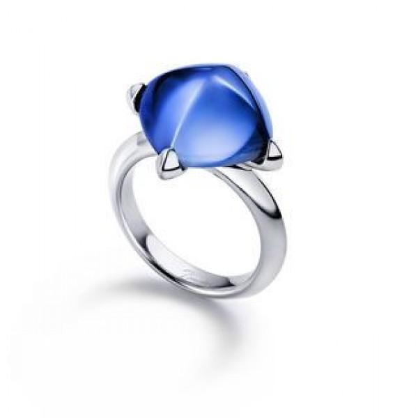 Baccarat Medicis Aquamarine Ring Silver