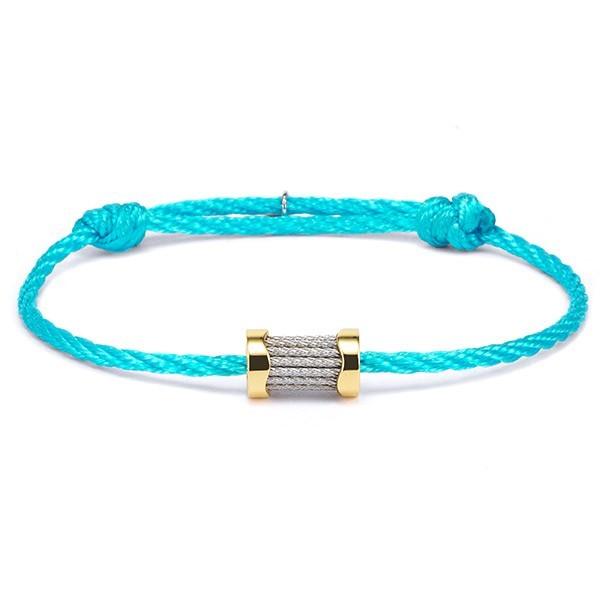 Charriol Bracelet Forever Waves Charms Light Blue