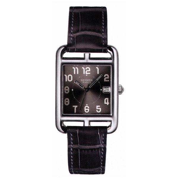 Hermes Cape Cod TGM watch, very large model 33 x 33 mm QTZ