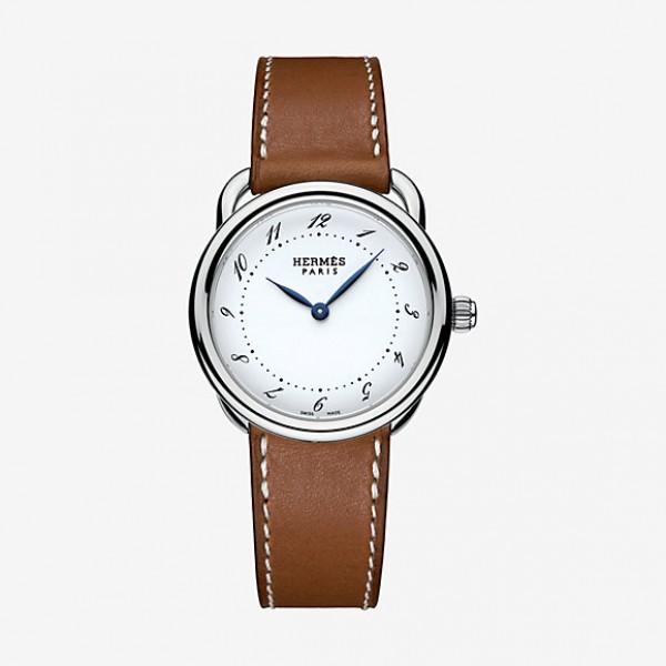 Hermes Arceau watch, very small model 28 mm QTZ