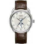 Hermes Arceau Grande Lune watch, 43 mm