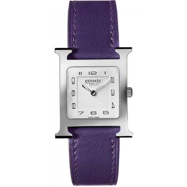 Hermes Heure H watch, medium model 26 x 26 mm QTZ