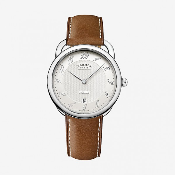 Hermes Arceau watch, very large model 40 mm Automatic