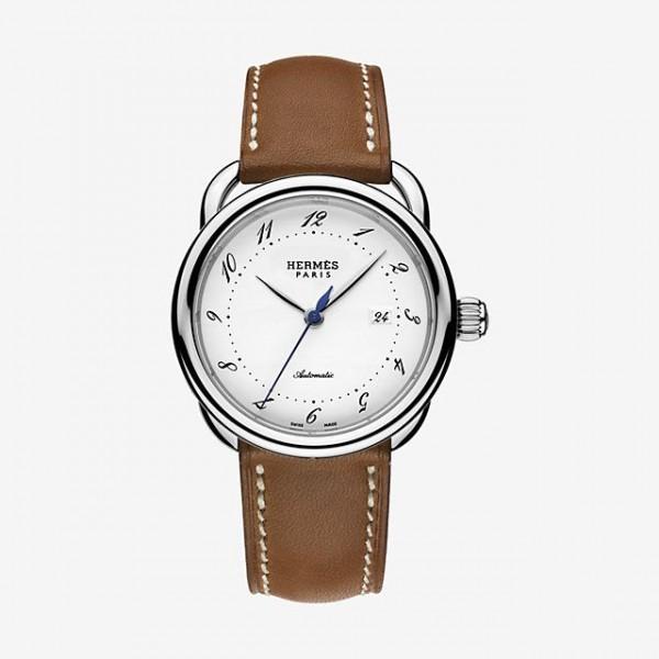 Hermes Arceau watch, medium model 36 mm QTZ
