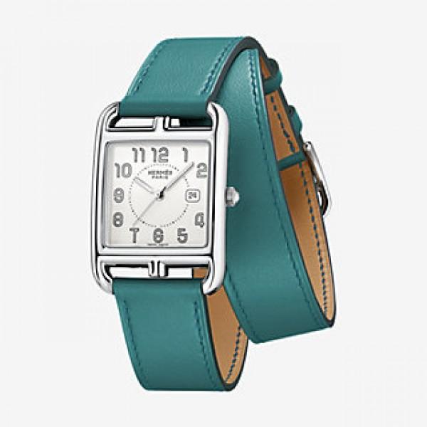 Hermes Cape Cod watch, large model 29 x 29 mm QTZ