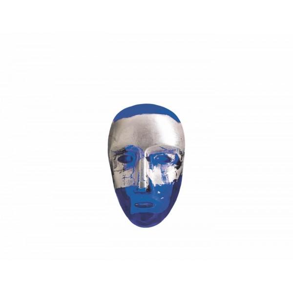 Kosta Boda Brains Blue and Silver Jimenez