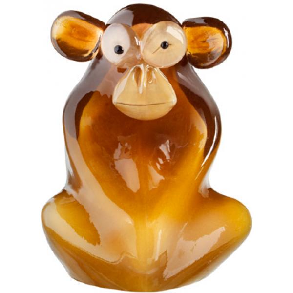 Kosta Boda  My Wide Life Sculpture Shock The Monkey