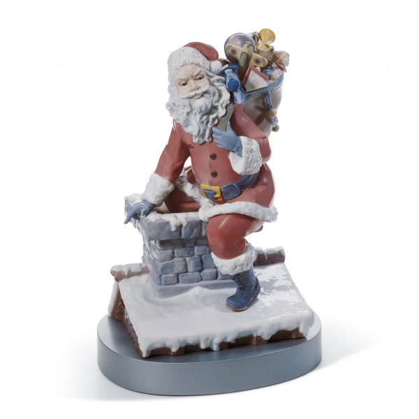 Lladro Down the Chimney