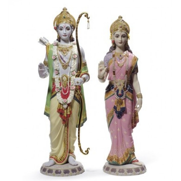 Lladro Rama and Sita