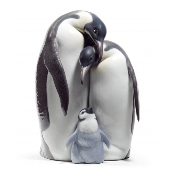 Lladro Penguin Family
