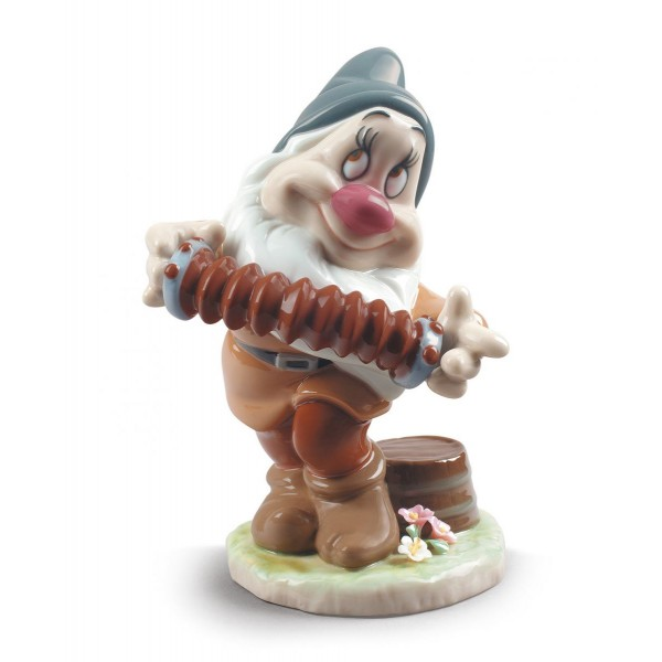 Lladro Bashful Snow White Dwarf