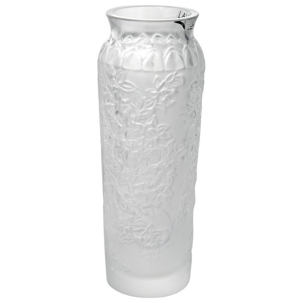 Lalique Bud Blossom Vase Clear