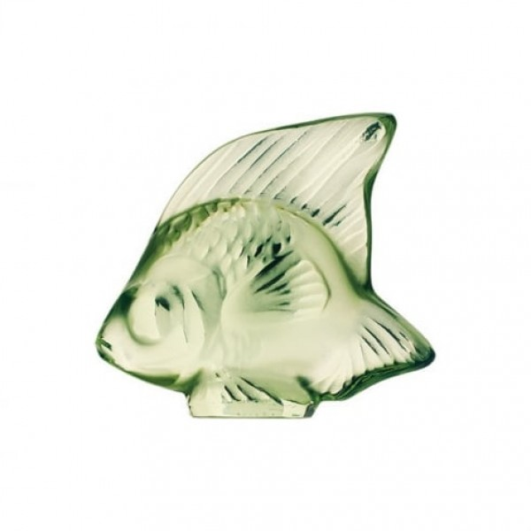Lalique Fish Light Green