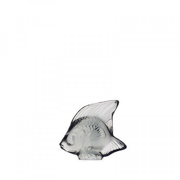 Lalique Fish Grey