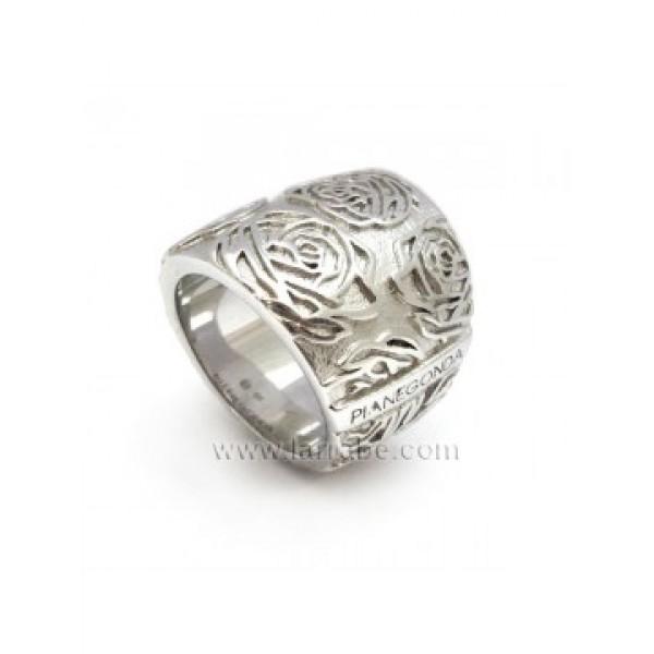 Pianegonda Rose Silver Ring