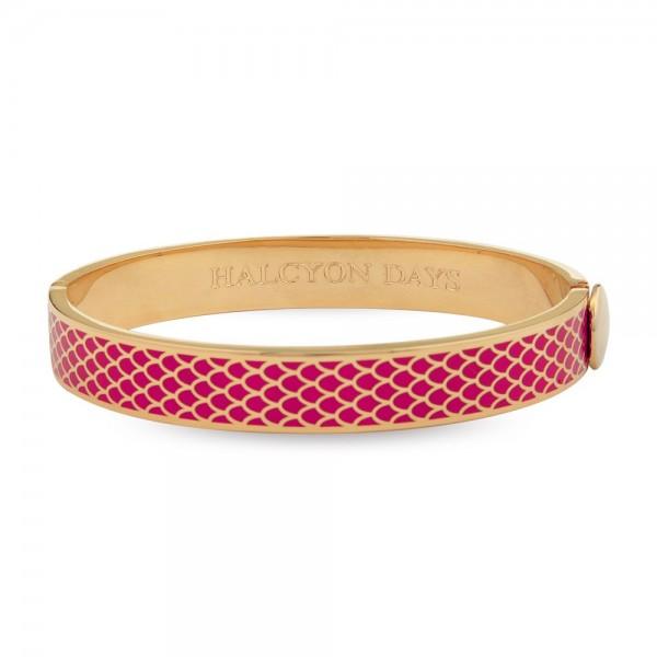 Halcyon Days Salamander Hot Pink & Gold  Bangle