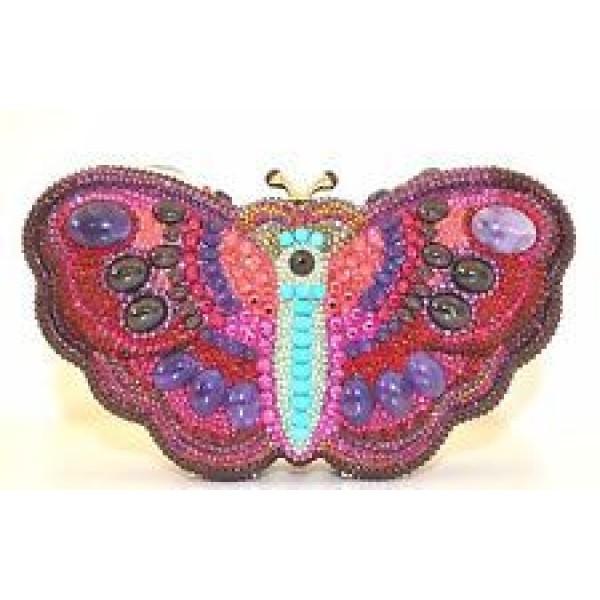 Judith Leiber Butterfly Crimson Multi Fantastic