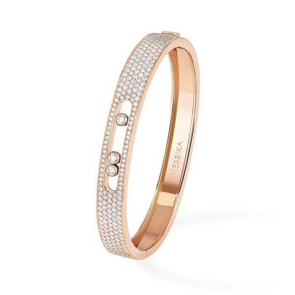 Messika Joaillerie Pave Bangle