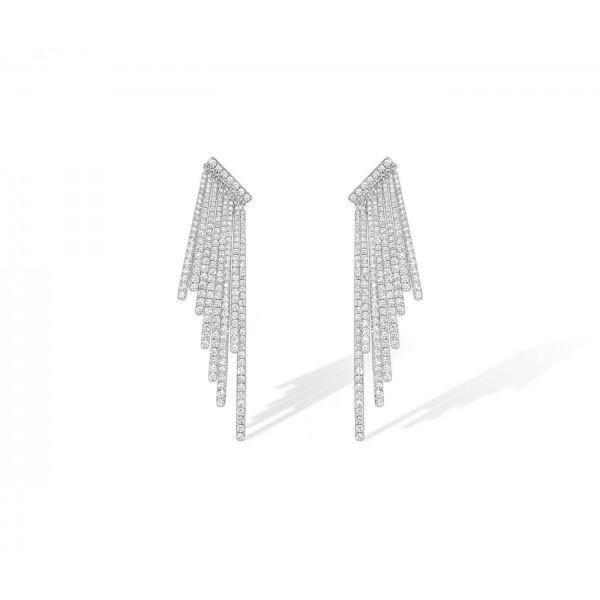 Messika Daria Multi-Fringe Earrings