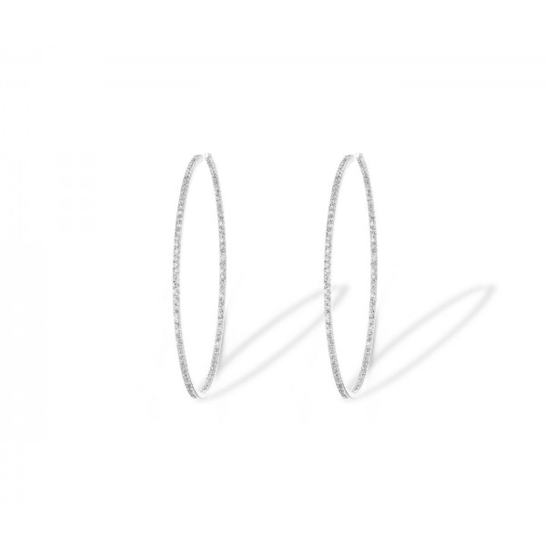 Messika Gatsby Eternity Earrings