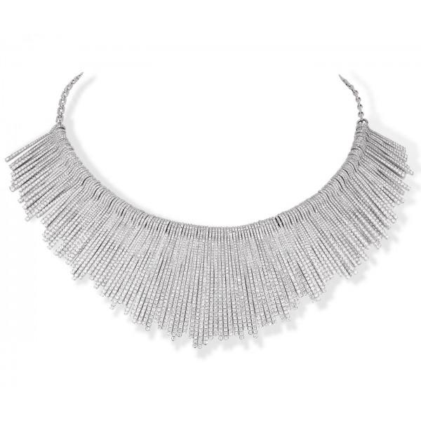 Messika Daria Multi Fringe Necklace Large