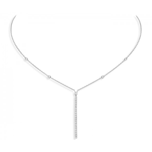 Messika Gatsby Verticale Barette Necklace