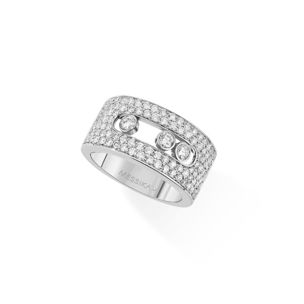 Messika Move Pave  Medium Ring