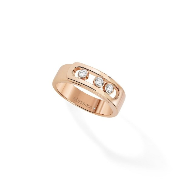 Messika Move Noa Ring Rose Gold