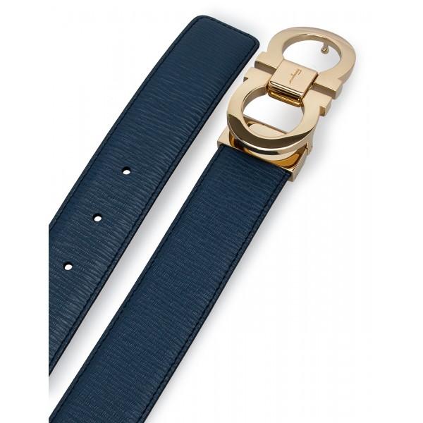 Salvatore Ferragamo - Adjustable Men's Reversible Belt
