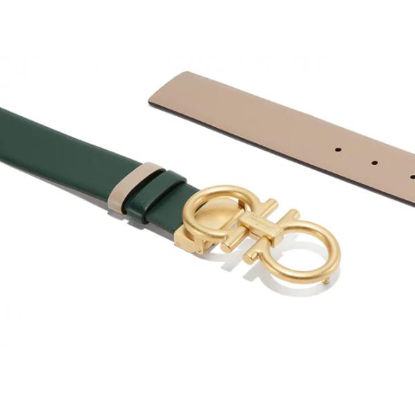 Salvatore Ferragamo - Adjustable Reversible Belt