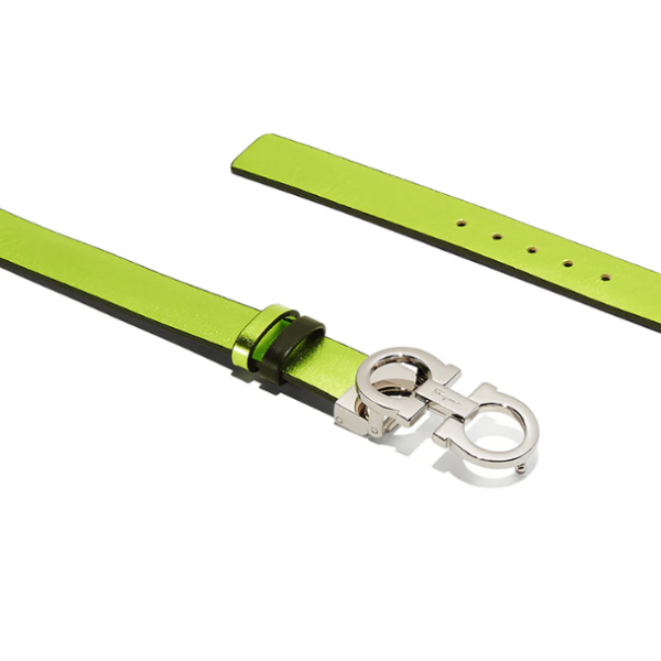 Salvatore Ferragamo - Adjustable Reversible Gancini Belt