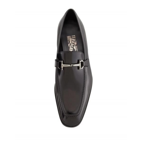 b068024f273 Salvatore Ferragamo Gancini Bit Loafer Black