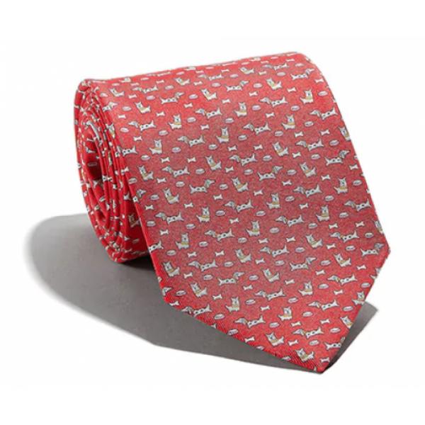 Salvatore Ferragamo -  Red Silk Tie