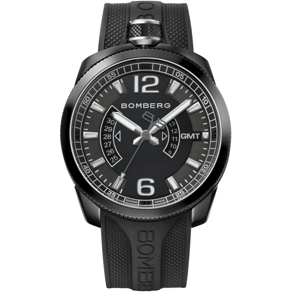 Bomberg BOLT-68 Black GMT 45mm
