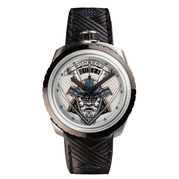 Bomberg Bolt 68 Samurai Blue Automatic Limited Edition 45mm