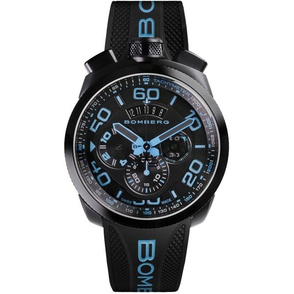 Bomberg Bolt 68 - Neon Blue Limited Edition 45mm