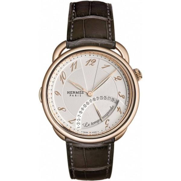 Hermes Arceau Le Temps Suspendu 43mm Mens Watch